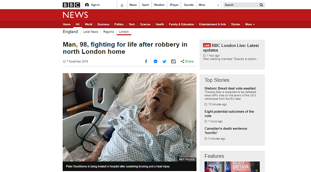 physical impact of burglary bbc news